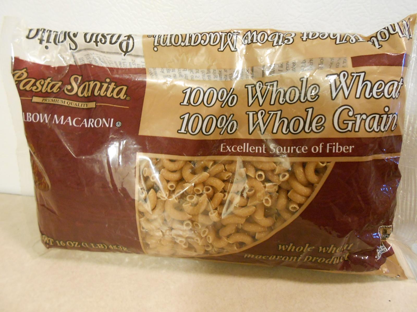Pasta Sanita Whole Wheat Elbow Macaroni
