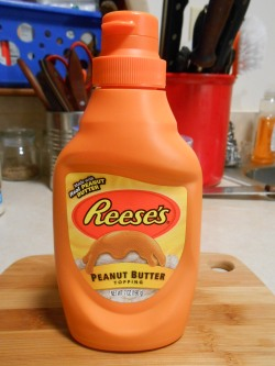 REESE'S PEANUT BUTTER TOPPING