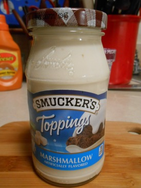 SMUCKER'S MARSHMALLOW TOPPING