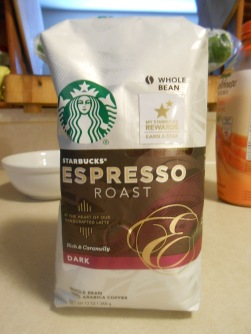 STARBUCKS ESPRESSO BAG