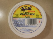 TOFUTTI CREAM CHEESE NONHOMOGENIZED