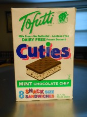 TOFUTTI MINT CHOCOLATE CHIP CUTIES