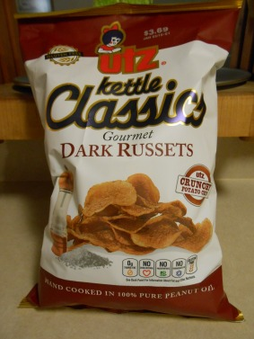 UTZ DARK RUSSETS POTATO CHIPS