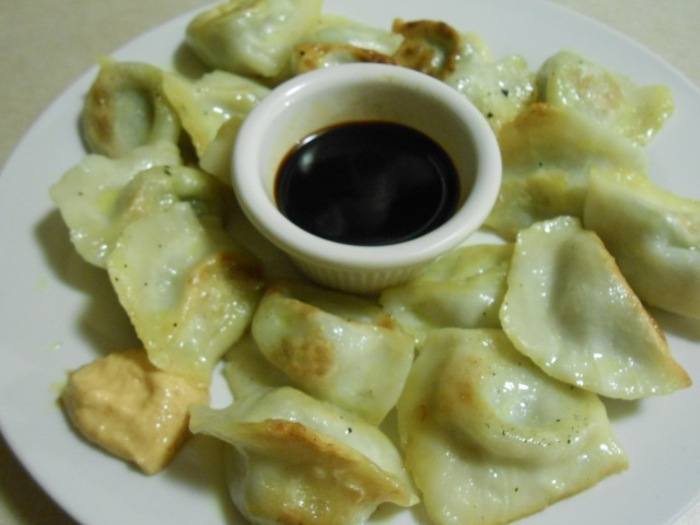 CHUNG'S VEGGIE POTSTICKERS COOKED