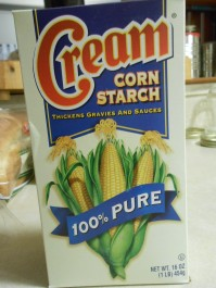 CREAM CORN STARCH