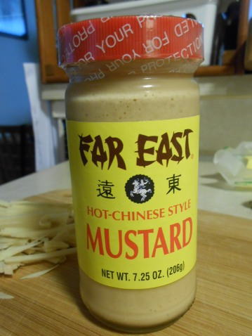 FAR EAST HOT-CHINESE STYLE MUSTARD