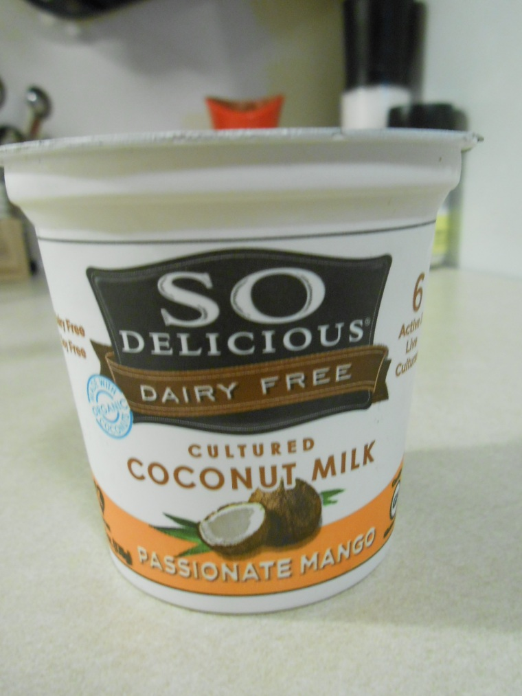 SO DELICIOUS COCONUT MILK YOGURT MANGO