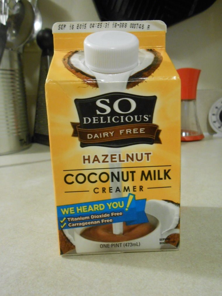 SO DELICIOUS HAZELNUT COCONUT MILK CREAMER