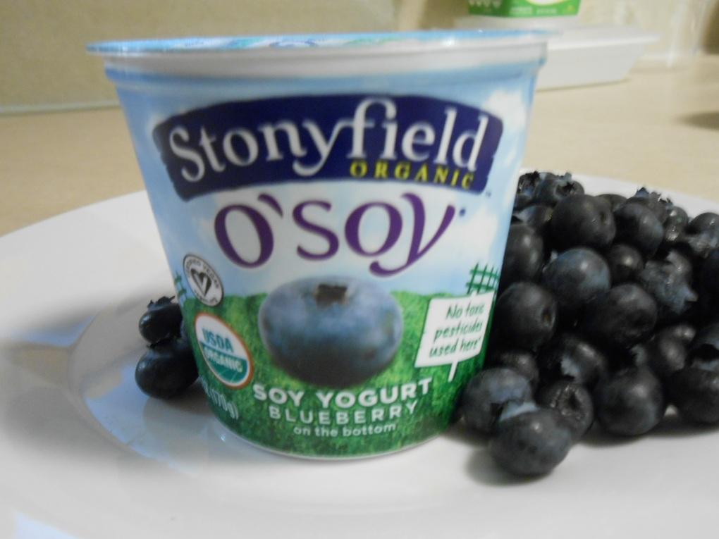 STONYFIELD O'SOY YOGURT