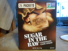 SUGAR IN THE RAW FRONT LABEL
