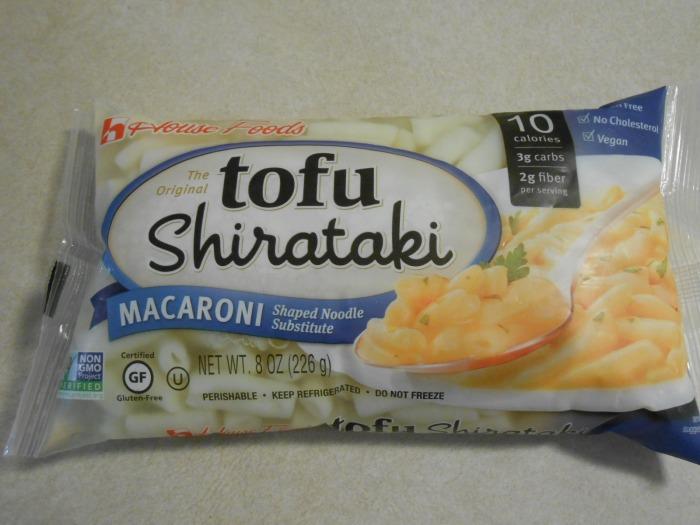 TOFU SHIRATAKI MACARONI