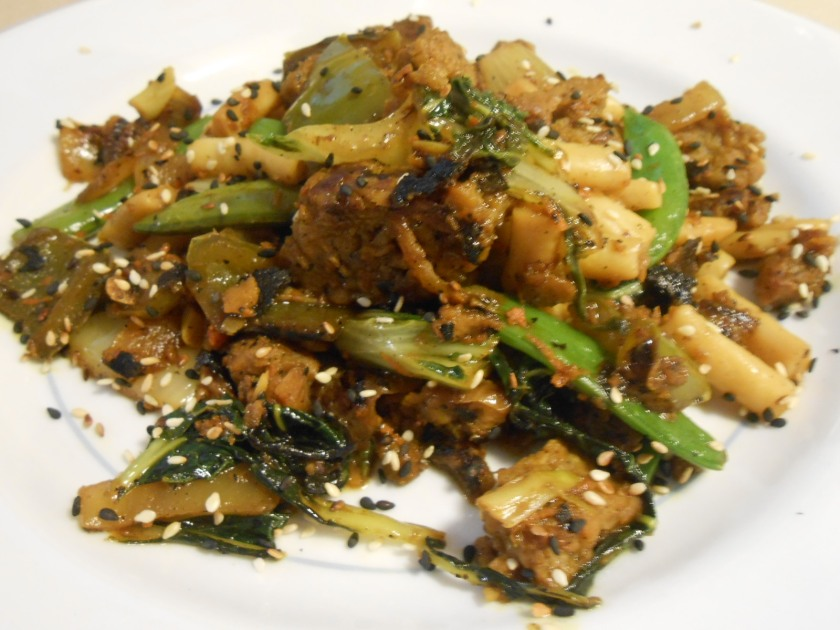 VEGGIE SAUSAGE ASIAN TUMBLE 1