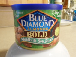 BLUE DIAMOND WASABI & SOY SAUCE ALMONDS