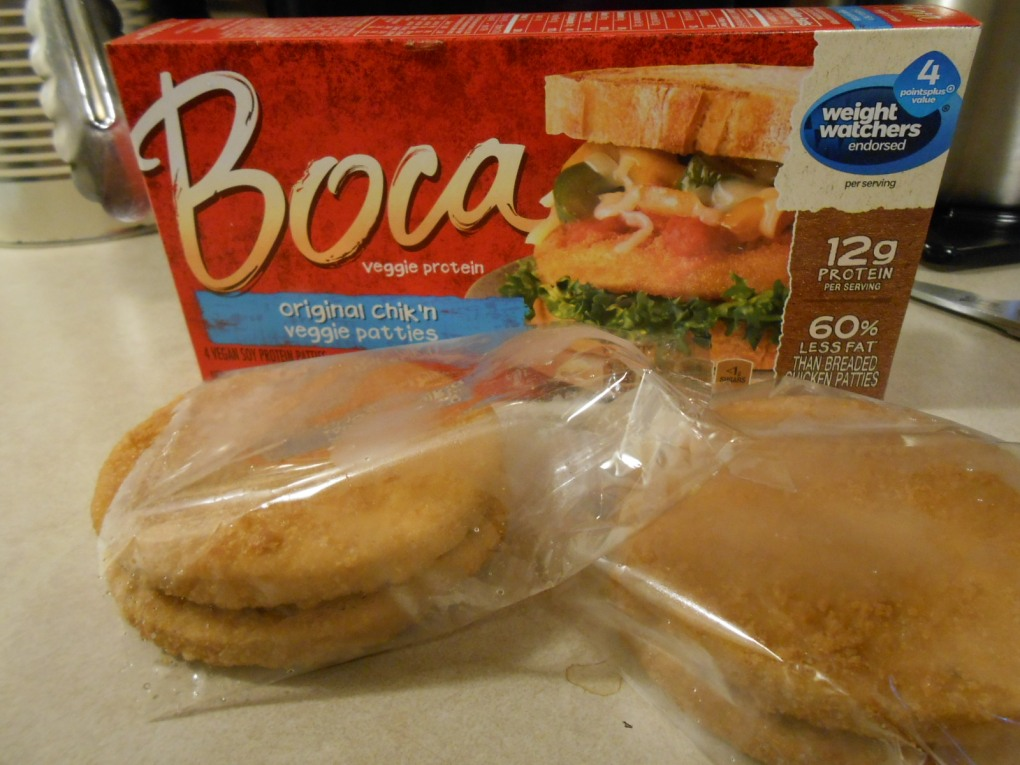 BOCA ORIGINAL CHIK'N PATTIES