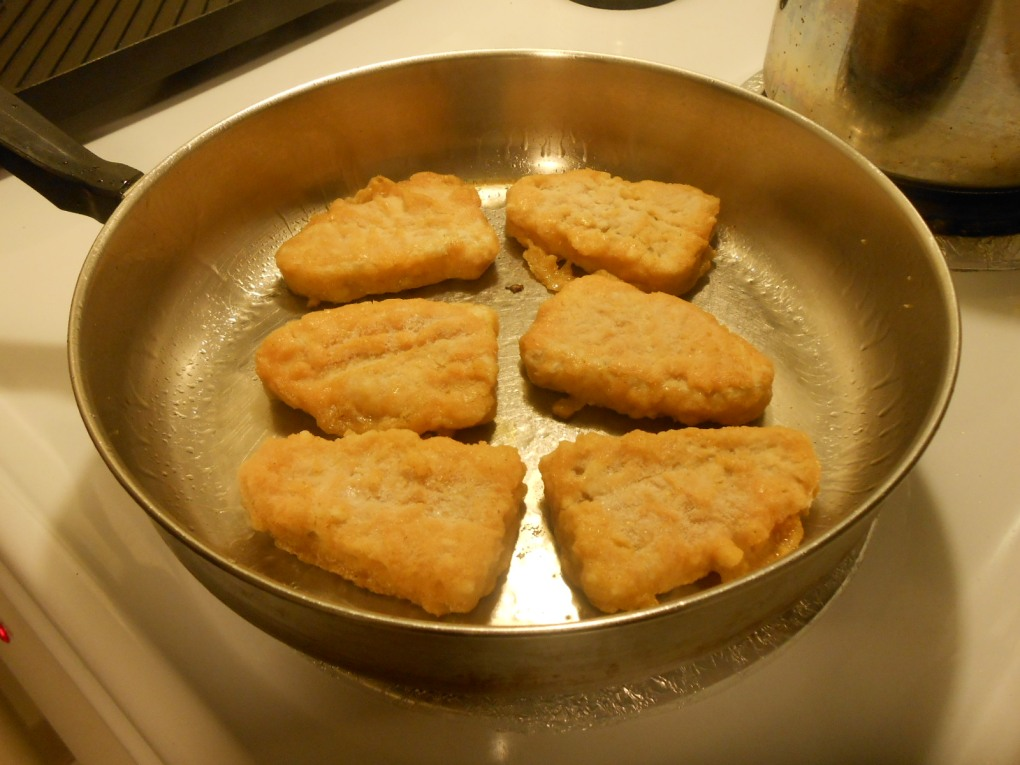 GARDEIN FISHLESS FILETS SKILLET