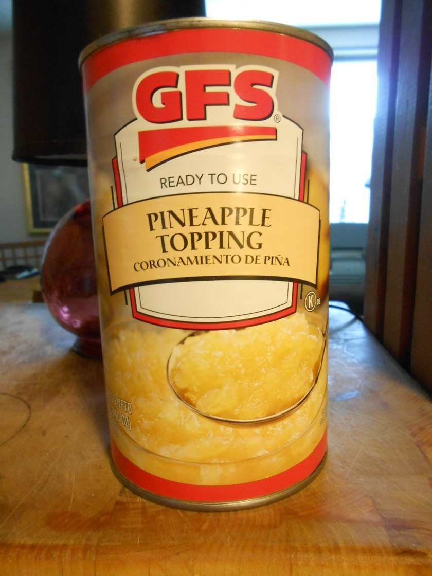 GFS PINEAPPLE TOPPING