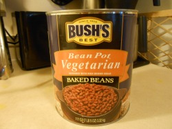 BUSH'S VEGETARIAN BAKED BEANS