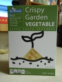 CRISPY GARDEN VEGETABLE CRACKERS