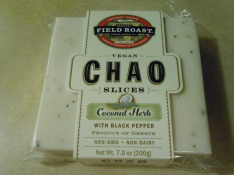 FIELD ROAST COCONUT HERB WITH BLACK PEPPER CHAO CHEESE