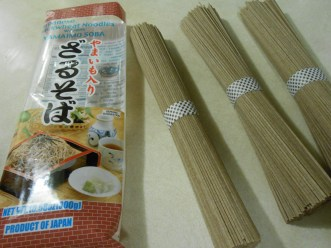 JAPANESE BUCKWHEAT NOODLES 3 BUNDLES