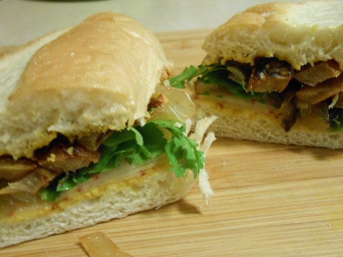 VEGAN TERIYAKI DUCK SUB 3