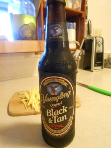YUENGLING BLACK AND TAN BEER