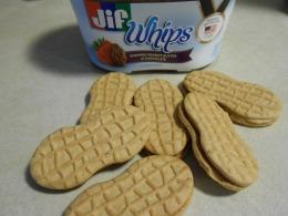 GELATO 3 NUTTER BUTTERS JIF WHIP