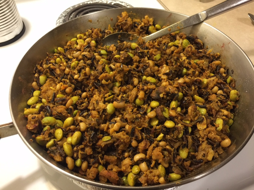LILLY'S SUPPER WILD RICE BLACK EYE PEAS 2