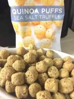 SEA SALT TRUFFLE QUINOA PUFFS - Edited