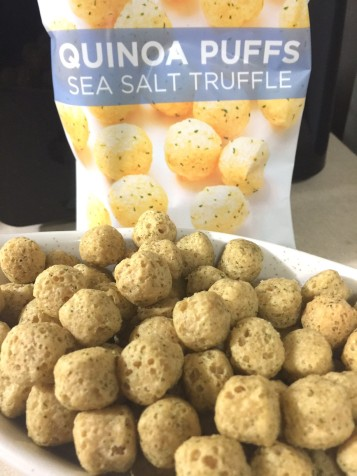 SEA SALT TRUFFLE QUINOA PUFFS - Edited