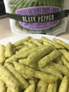 SNAP PEA CRISPS SERVING