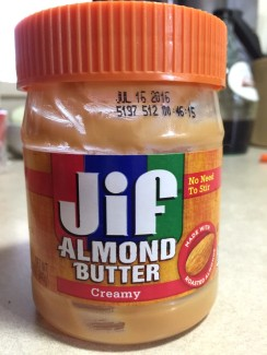 JIF ALMOND BUTTER - Edited