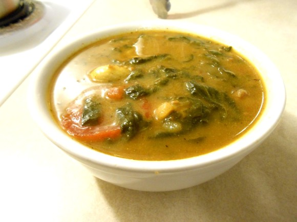 SPINACH POPEYE SOUP BOWL