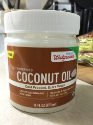 EXTRA VIRGIN COCONUT OIL 1