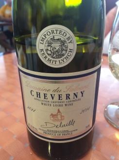 CHEVERNY WHITE LOIRE WINE