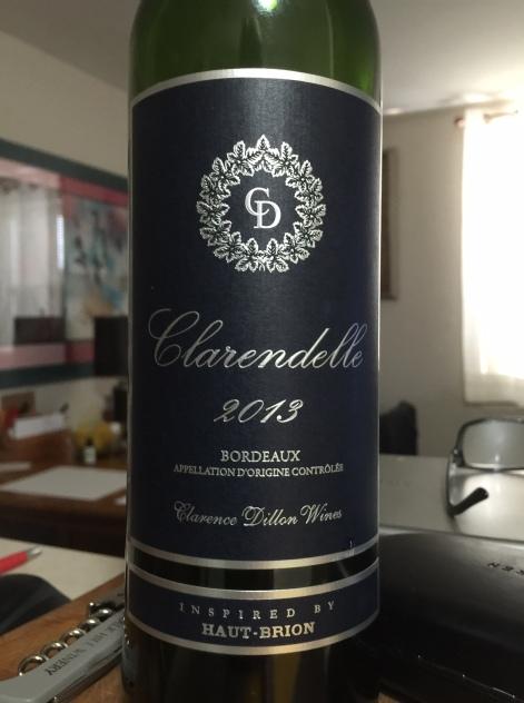 CLARENDELLE BORDEAUX WINE