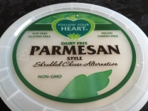 FOLLOW YOUR HEART PARMESAN PKG. TOP