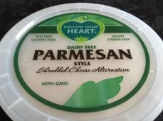 FOLLOW YOUR HEART PARMESAN PKG. TOP