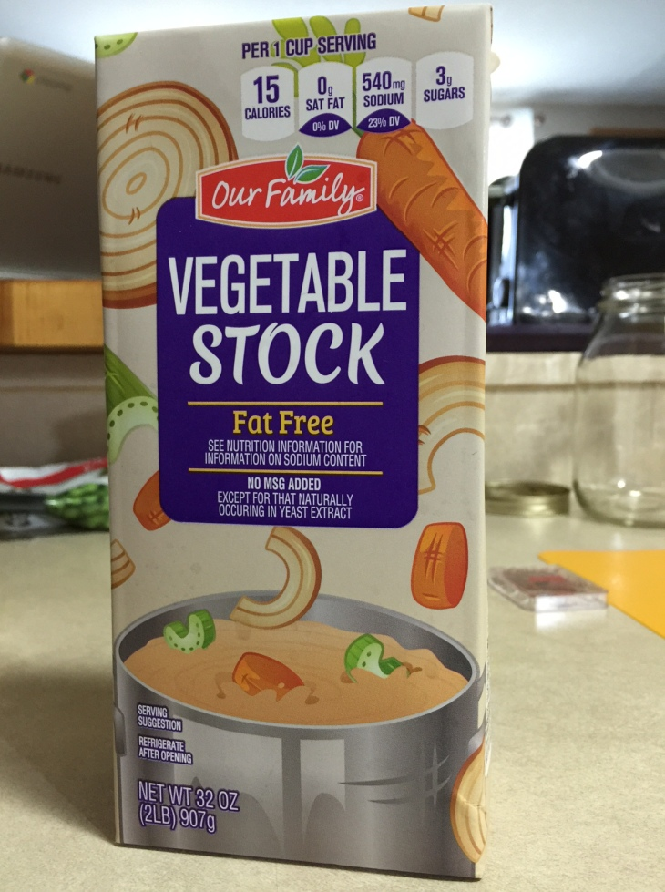 OUR FAMILY VEGETABLE STOCK