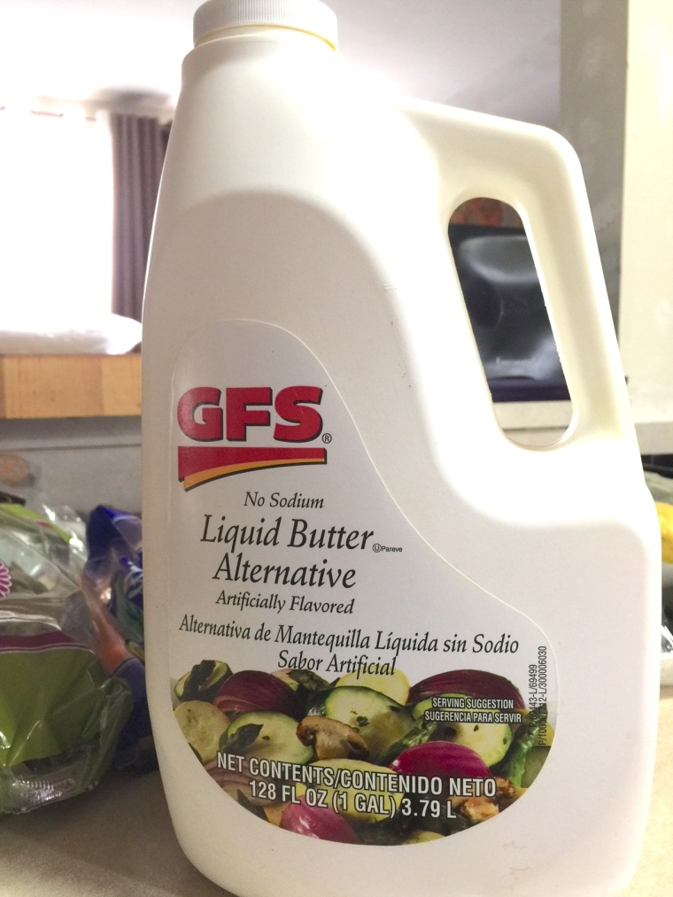 LIQUID BUTTER ALTERNATIVE