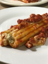 BAKED CANNELLONI PLATED