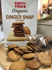 EARTH FARE GINGER SNAPS