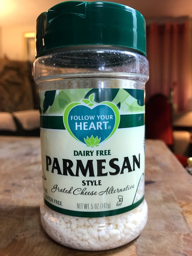 FOLLOW YOUR HEART DAIRY FREE PARMESAN