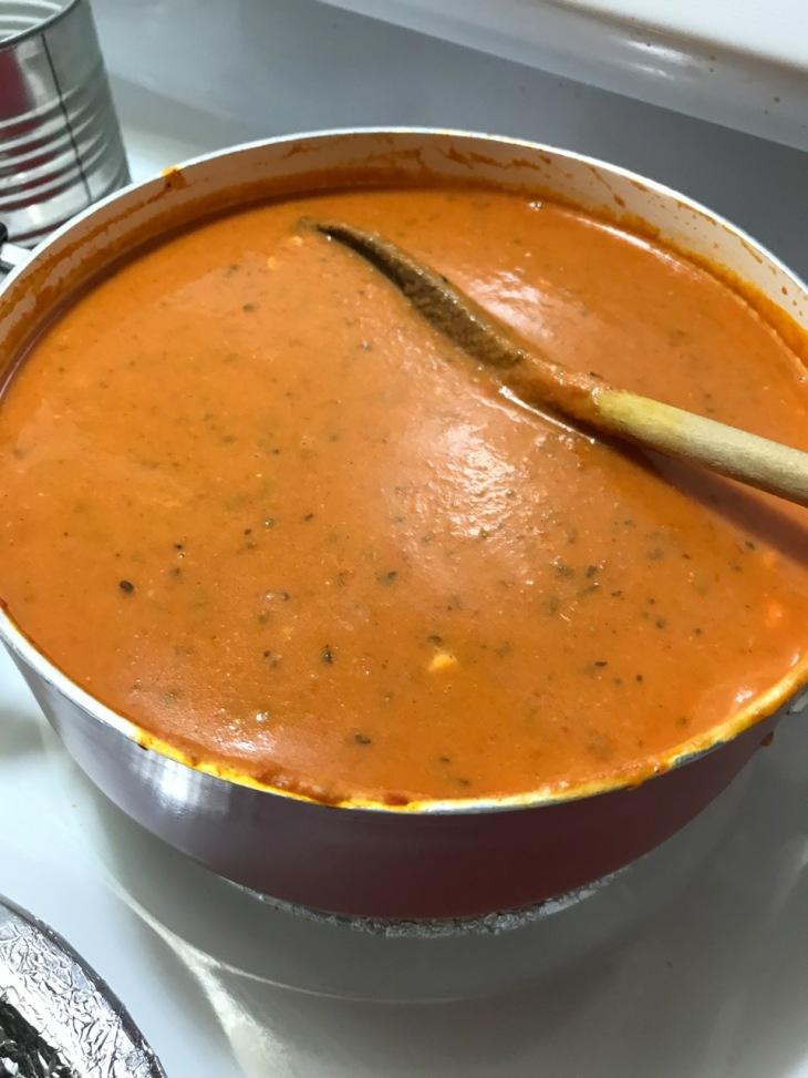 CREAM OF TOMATO PUMPKIN SOUP 1