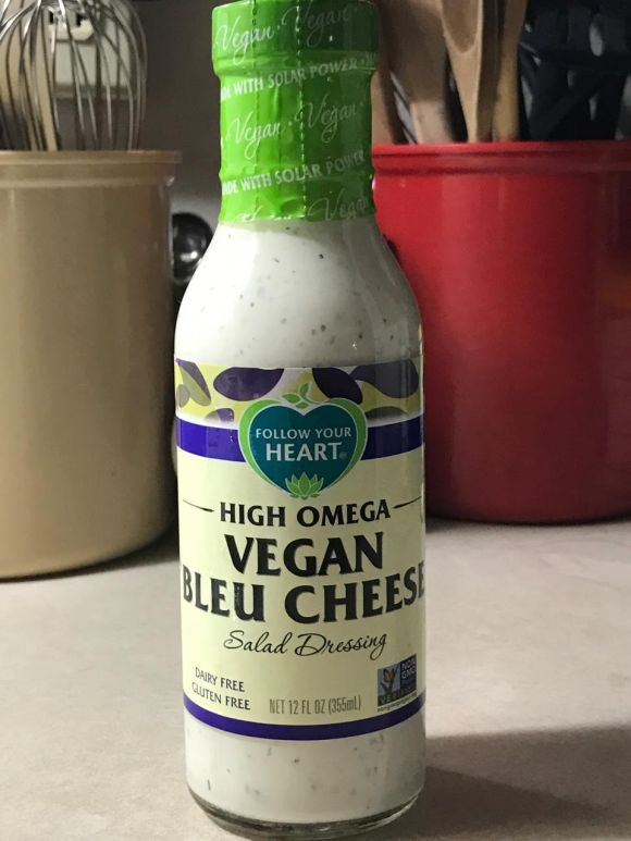 FOLLOW YOUR HEART BLEU CHEESE DRESSING