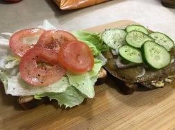 TOFURKEY CHEESE MELT SANDWICH 2