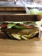 TOFURKEY CHEESE MELT SANDWICH 3