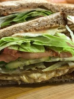 TOFURKEY CHEESE MELT SANDWICH 5