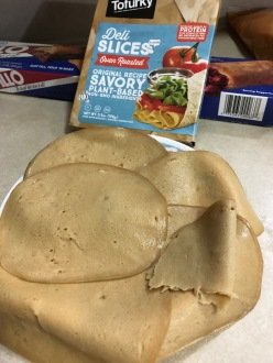TOFURKEY DELI SLICES OPEN PKG.