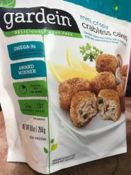GARDEIN CRABLESS CAKES 1
